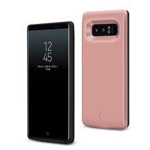 цены на Portable Battery Charger Case 6500mAh External Power Bank For Samsung Galaxy Note 8 Extended Phone Battery Power Case  в интернет-магазинах