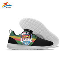 Rugby League Custom Sport Shoes Creative Design Low Top Canvas Flat Casual Drop Shipping Walking