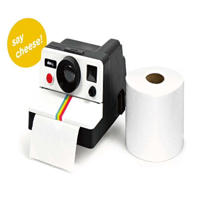 High Quality Retro Camera Shaped Roll Tissue Box