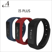 I5 Plus Bluetooth 4.0 Smart band Pedometer Wristband Activity Tracker Health Fitness Tracker Bracelet For Android / ISO Phone
