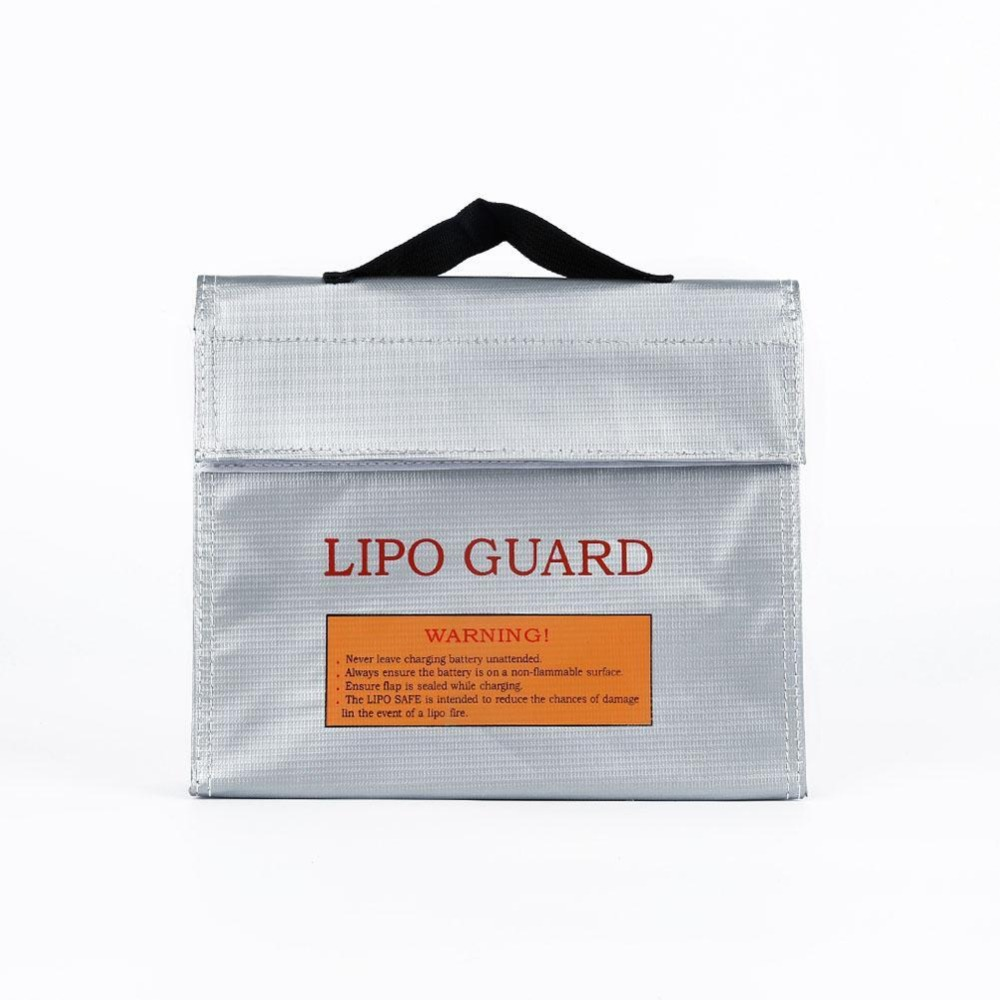 2016 hotsaleLiPo Safe Battery Guard Charging Protection Bag Explosion Proof 240X65X180mm New