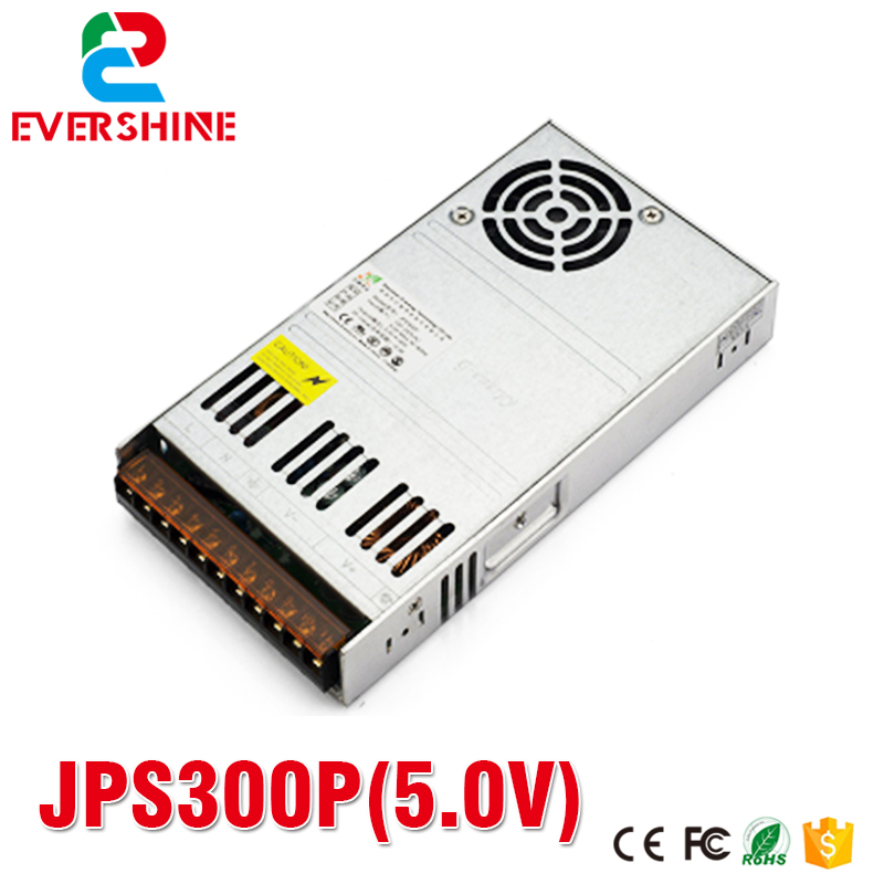 JPS300P 5.0V 60A LED Display Screen Special Power supply 300W Led Switching Power Supply good group diy kit led display include p8 smd3in1 30pcs led modules 1 pcs rgb led controller 4 pcs led power supply