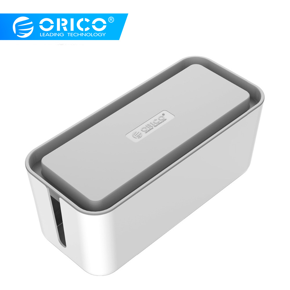 ORICO CMB Protect Box Cable Winder Manager Power Strip Box for Adapter Wire/Charger Line/USB Network HUB Cable Management BoxORICO CMB Protect Box Cable Winder Manager Power Strip Box for Adapter Wire/Charger Line/USB Network HUB Cable Management Box