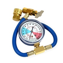 New Recharge Hose Refrigerant Pressure Gauge R134A Charging for Car Air Conditioner