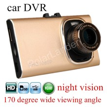 170 degree wide viewing angle full HD 1080P Car camera GT900 Night vision Car DVR Recorder G-sensor digital video