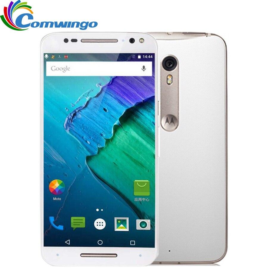 Original Motorola X Style XT1575 3GB RAM 16GB 32GB 64GB ROM Hexa Core 4G LTE Cell