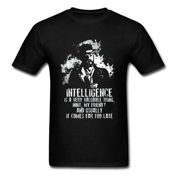 Telewizor z dostępem do kanałów cytat T-shirt mężczyźni peaky blinders Alfie Tshirt Retro Finn Shelby T Shirt wycięcie pod szyją bawełna anglia projekt koszulka tommy Shelby tanie i dobre opinie Topy Tees Krótki Anglia style Poliamid Akrylowe Elastan Rayon Mikrofibra Lycra Kaszmiru COTTON Wiskoza Octan Pościel Nylon