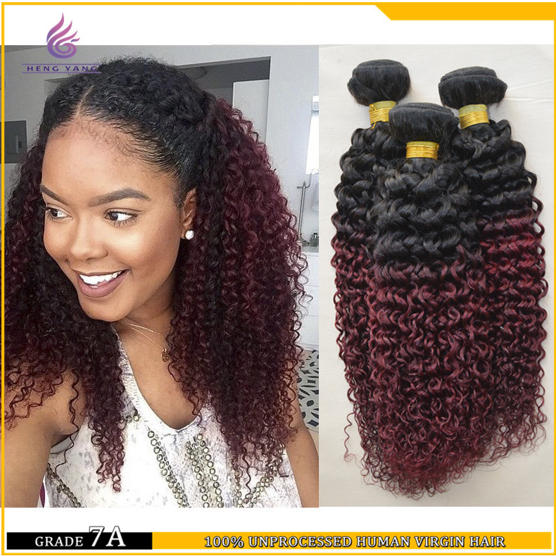 7a unprocessed malaysia weaving bundle 3 pieces lot afro two tone 7a unprocessed malaysia weaving bundle 3 pieces lot afro two tone burgundy ombre malaysian curly hair weave for african american on aliexpress alibaba pmusecretfo Images