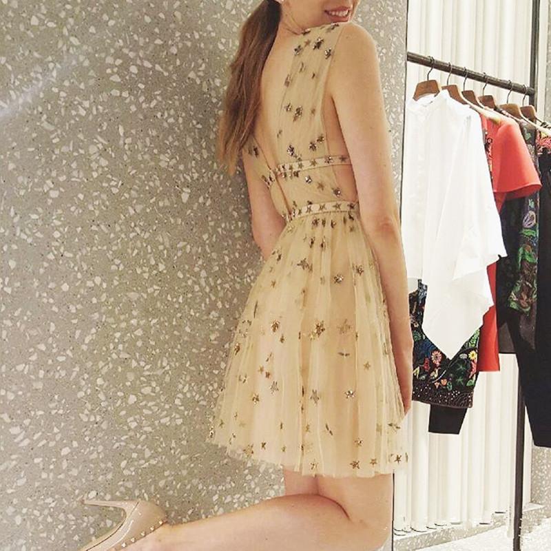 HTB1MmeCQVXXXXb6XFXXq6xXFXXXp - Summer Dress  Star Beads Jacobs Deep V JKP064