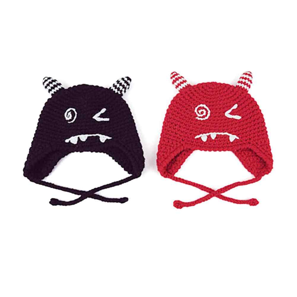 1177b18130dca Detail Feedback Questions about Handmade Hat Double Horned Monster ...
