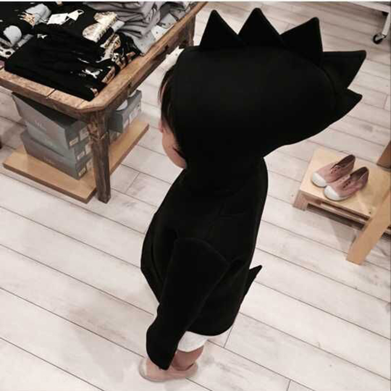 Children Hoodies Dinosaur Shape Clothing for Baby Boys Girls Jacket Kids Clohes Cute Sweaters Outerwear Child Hoodie 2017 Coats