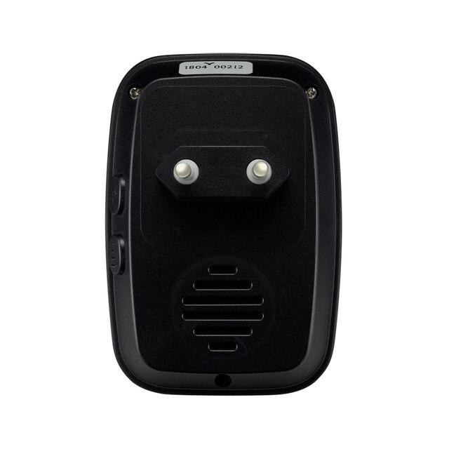 New Home Welcome Doorbell  Intelligent Wireless Doorbell Waterproof 300M Remote EU AU UK US Plug smart Door Bell Chime 4