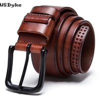 2017 New Riemen Heren Cow Genuine Leather Designer Belts For Men High Quality Fashion Vintage Male Strap For Jeans