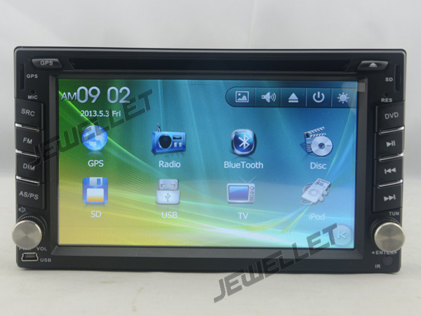 Car DVD GPS radio Navigation for Hyundai Accent Verna Tucson Brio Avega with Bluetooth Ipod 1080P