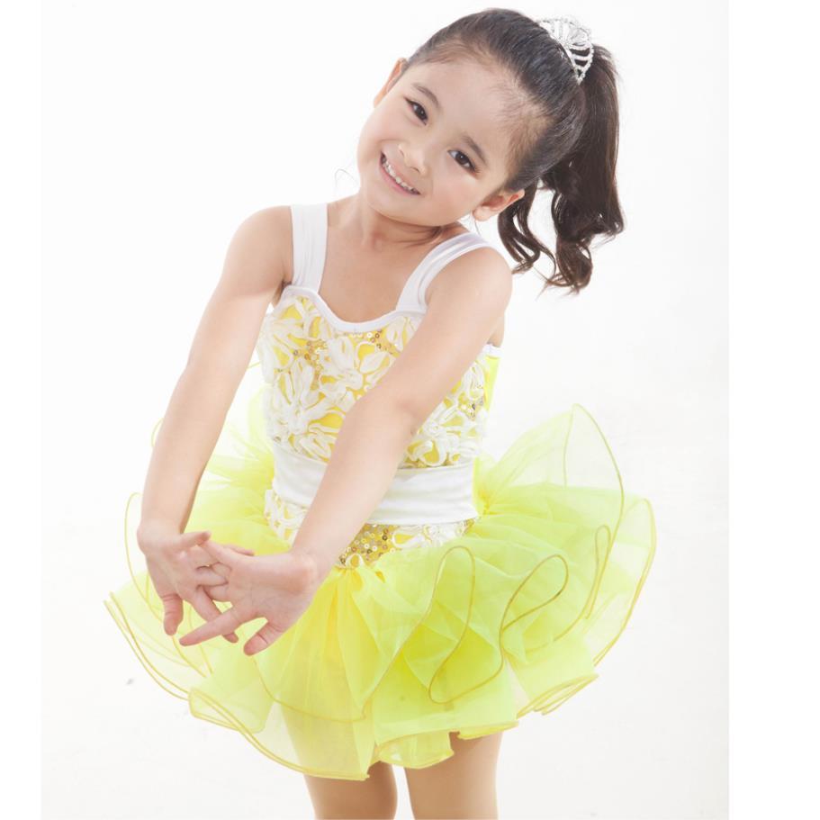 2018 Time-limited New Girls Acetate Gymnastics Leotard Ballet Tutu Ballet Dress For Children Costume Professional Tutu Ballet Stage & Dance Wear