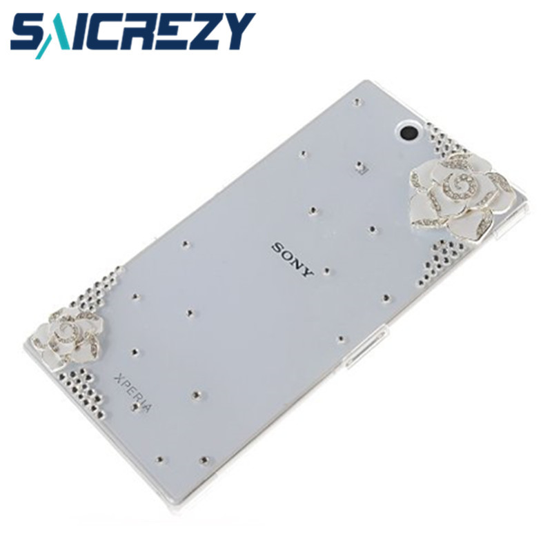 New 2017 rhinestone Luxury pearl Hard Back Cover Skin mobile phone Case For sony Z Ultra XL39H 6.44Z2 MINIT3M2E3T2Z2E1