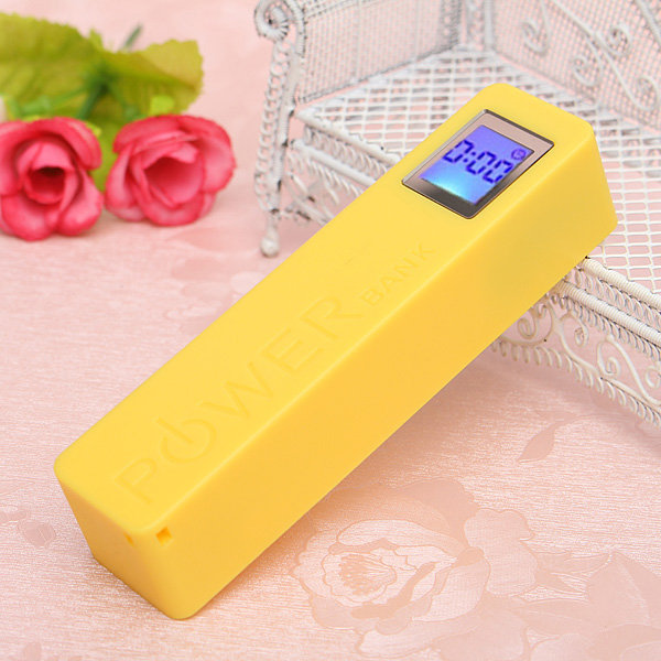 no battery) power bank diy box case with led display screen  no battery) power bank diy box case