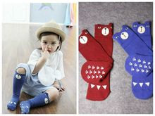 (1 pairs/lot) Toddlers Kids Boys Girls Knee High Socks School Cotton Girls Tights Cartoon Boys Stockings for 0-4 years old