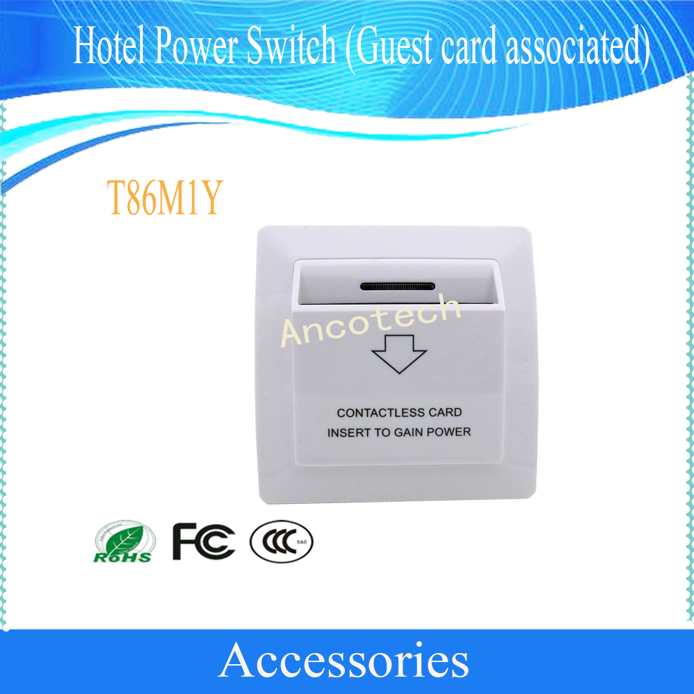 Free Shipping DAHUA Security Intelligent Building Hotel Power Switch Guest Card Associated Electronic Lock Without Logo T86M1Y building hotel kpis