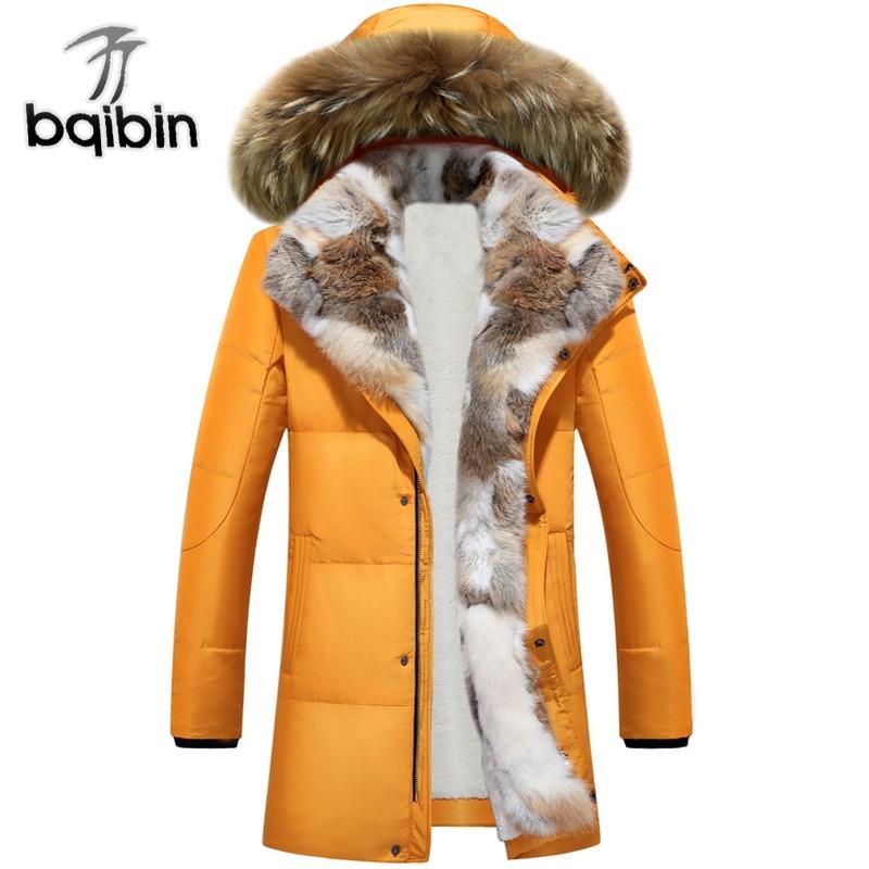 Длинные парки с капюшоном Для мужчин толстые теплые Для мужчин S зимняя куртка мужской плюс Размеры S-5XL 2018 брендовая одежда человек пальто м...
