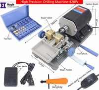freeship!BLACK Stone Pearl Drilling Machine Jewelry Making equipments beading polishing tools 420W powerful Amber Holing Machine
