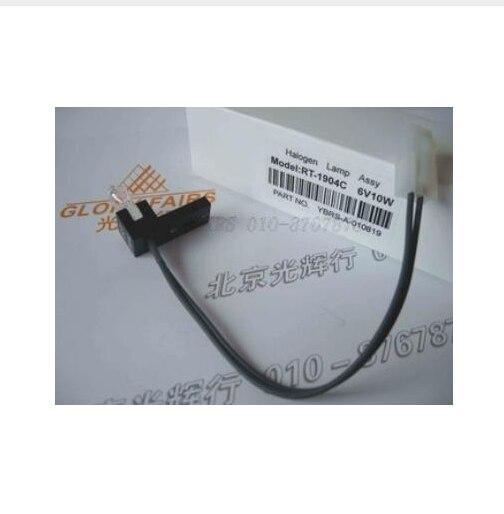 Pour RAYTO RT-1904C 6 v 10 w Lampe Halogène, Semi Automatique Analyseur Biochimique, RT-1904 C RT-9000 RT-9200 6V10W Ampoule, RT-1904C 200