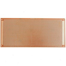 3pcs  Electric Unit Single Side Copper Proto typing Paper PCB Printed Circ uit Board Prototype Breadboard