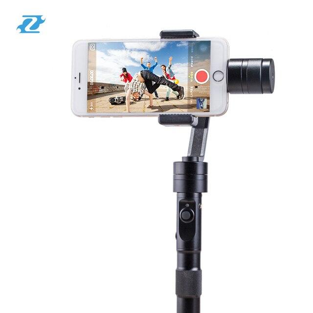 Zhiyun z1 suave c plus 3 brushless eixo cardan do telefone smartphone estabilizador handheld para iphone 7 s plus pk dji osmo/feiyu g4
