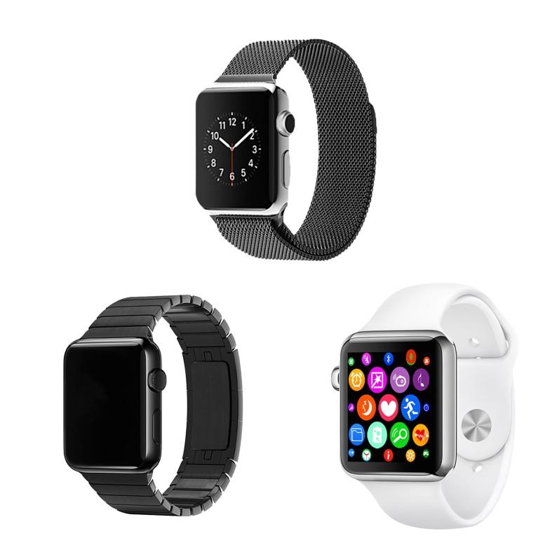 MTK2502c Smart Watch IWO 1 1 Smartwatch Support Heart Rate Monitor WhatsApp IWO Upgrade 2 BT