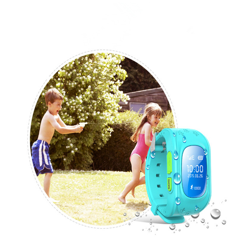 Q50 Smart Kids Watch Children GPRS Wristwatch GSM GPS Locator Tracker SOS Call Anti Lost Monitor