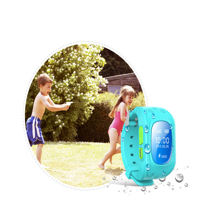 Q50 Smart Kids Watch Children GPRS Wristwatch GSM GPS Locator Tracker SOS Call Anti-Lost Monitor Kid Smartwatch for ios Android
