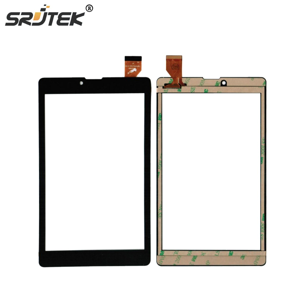 Srjtek Black New 7'' inch PB70PGJ3613-R2 Tablet Capacitive Touch Screen Digitizer External screen Sensor Replacement black new 8 tablet pc yj314fpc v0 fhx authentic touch screen handwriting screen multi point capacitive screen external screen