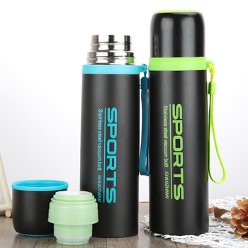 300ML and 500ML Thermal Flask and Vacuum Sports Bottle Flask for Hot Water and Milk