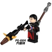 Single Sale star wars superhero Rogue One Chirrut Imwe Story building blocks model bricks toys for children brinquedos menino