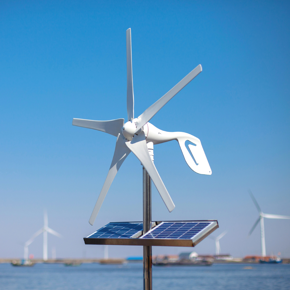 2019 Small Home Wind Turbine Generator Fit For Street Lamps Monitoring And Boats Free 600W Wind