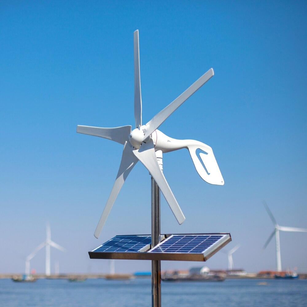2019 pequeño generador de turbina de viento para casa apto para lámparas de calle, monitoreo y barcos, controlador de viento gratis de 600 W, 10 años de garantía