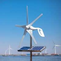 2019 pequeño generador de turbina de viento para casa molino de viento apto para lámparas de calle, controlador de viento 600W sin barco de seguimiento 10 años de garantía