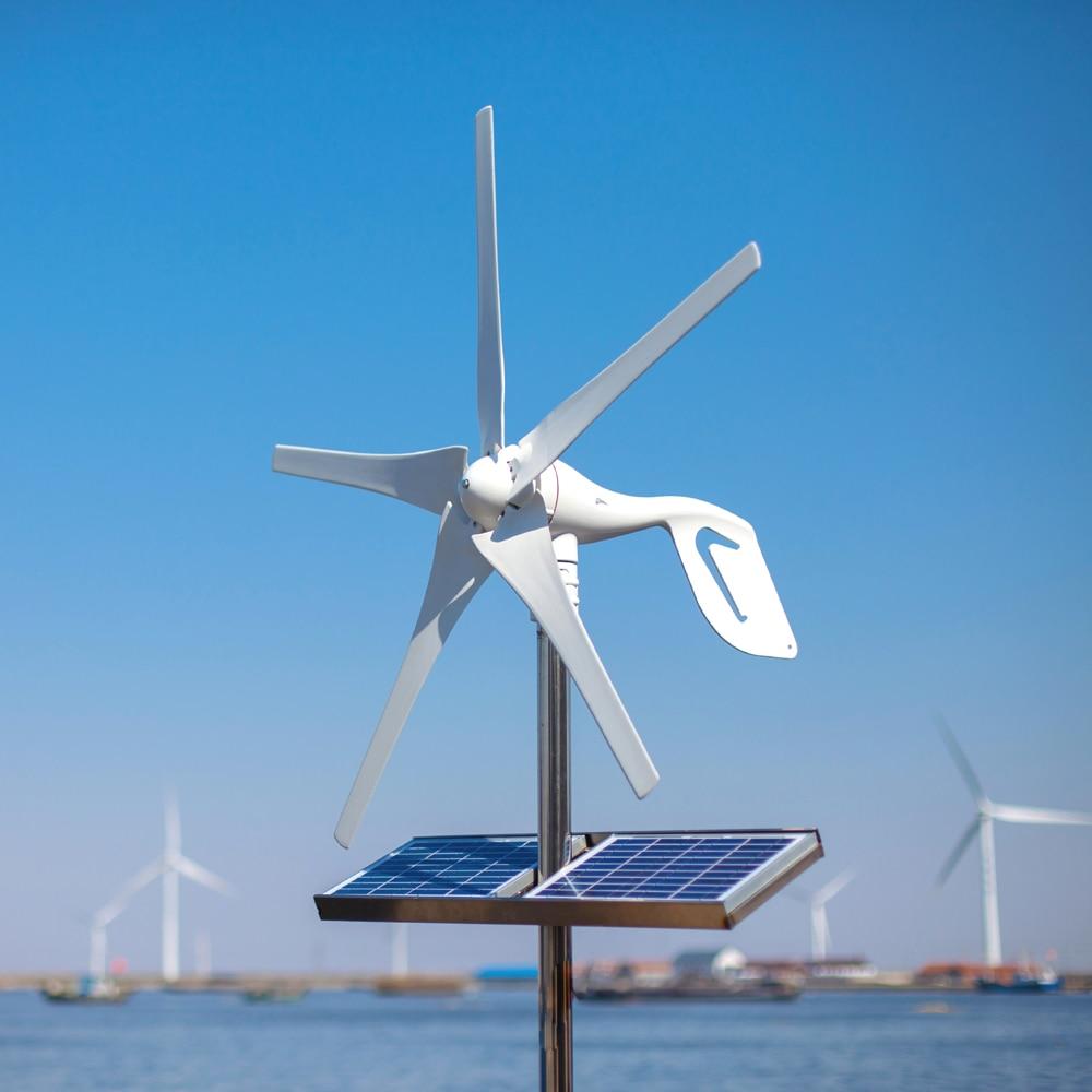 2019 petit moulin à vent à la maison de générateur d'éolienne convenable pour des réverbères, contrôleur libre de vent du bateau 600W de surveillance 10 ans de garantie