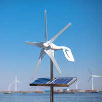 2020 Small Home Wind Turbine Generator Windmill Fit For Street Lamps,Monitoring Boat Free 600W Wind Controller 10 Years Warranty
