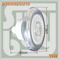 Free shipping LED AR111 COB BULB GU10 10W 85-265V 1000lm replace to 100W lamp high quality 10 w led ceiling spot light