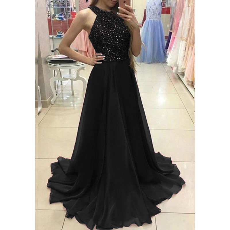 Women Ladies  Formal Party Ball Prom Long Dress 1