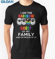 Create T Shirt Online Gildan Men S Short Sleeve I Am The Rainbow Sheep Of The