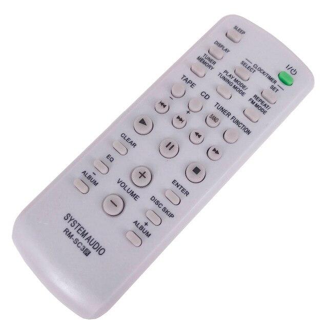 NEW remote control For SONY CD HIFI RM SC3 CMTCP555 CMTHPX7 CMTNE5 LBTZX6 LBTZX8 LBTZX9 MHCGX250
