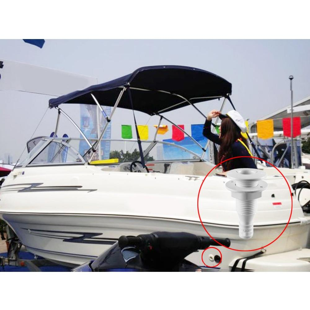 Image 5 - HCSSZP Plastic Thru Hull Bilge Fitting for Bilge Pump Aerator Hose of Boat Marine Yacht Sail RV Camper Truck Free Shipping-in Marine Hardware from Automobiles & Motorcycles