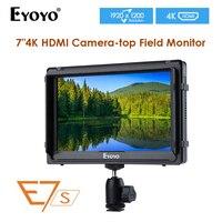 EYOYO E7S 7 дюймовый ips 1920x1200 накамерный полевой цифровая зеркальная камера монитор для BMPCC Canon sony камера видеомонитор 4 K