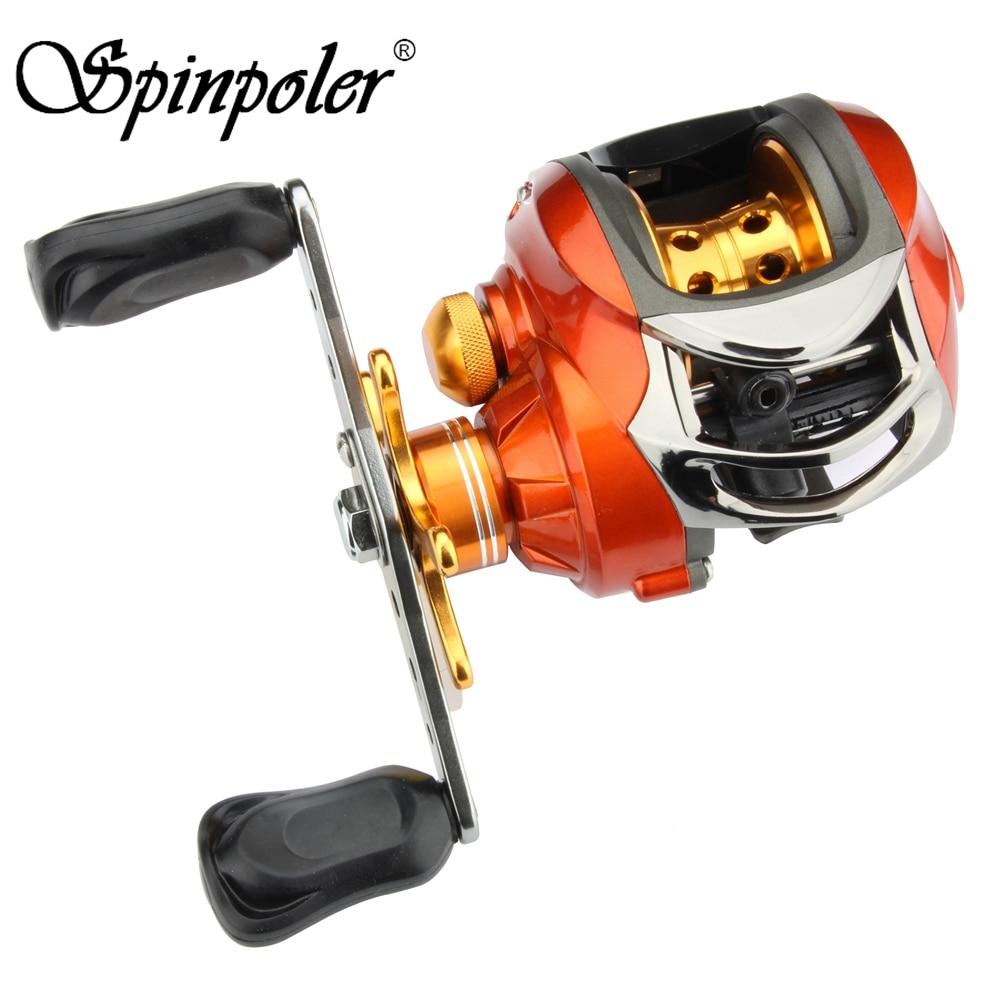 2019 New Spinpoler 2 Colors Fishing Reel Bait Casting Reels 6 3 1 9 1Ball Bearings