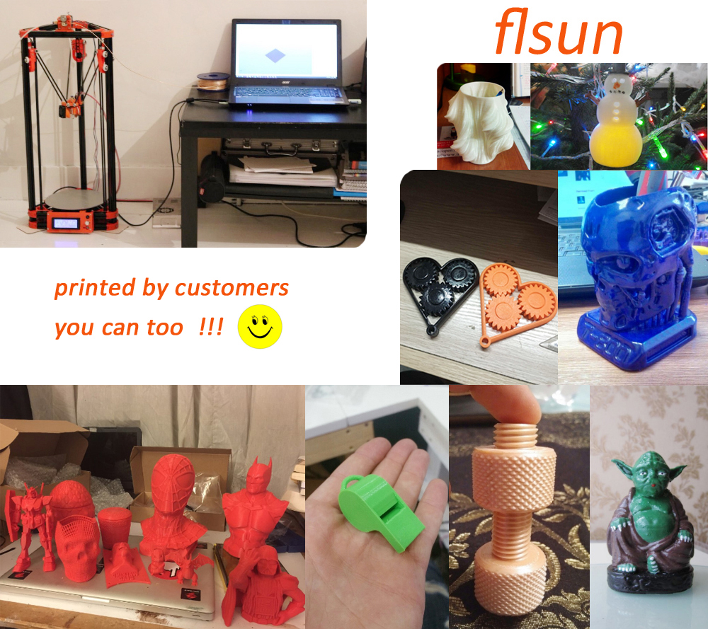 3d printer from clients
