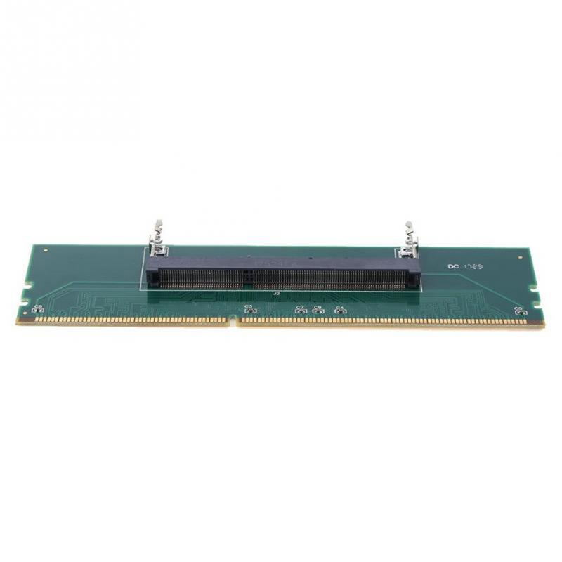 Image 4 - 240 To 204P DDR3 DIMM RAM Memory Adapter Card Desktop Connector Computer Part Desktop Component-in Add On Cards from Computer & Office