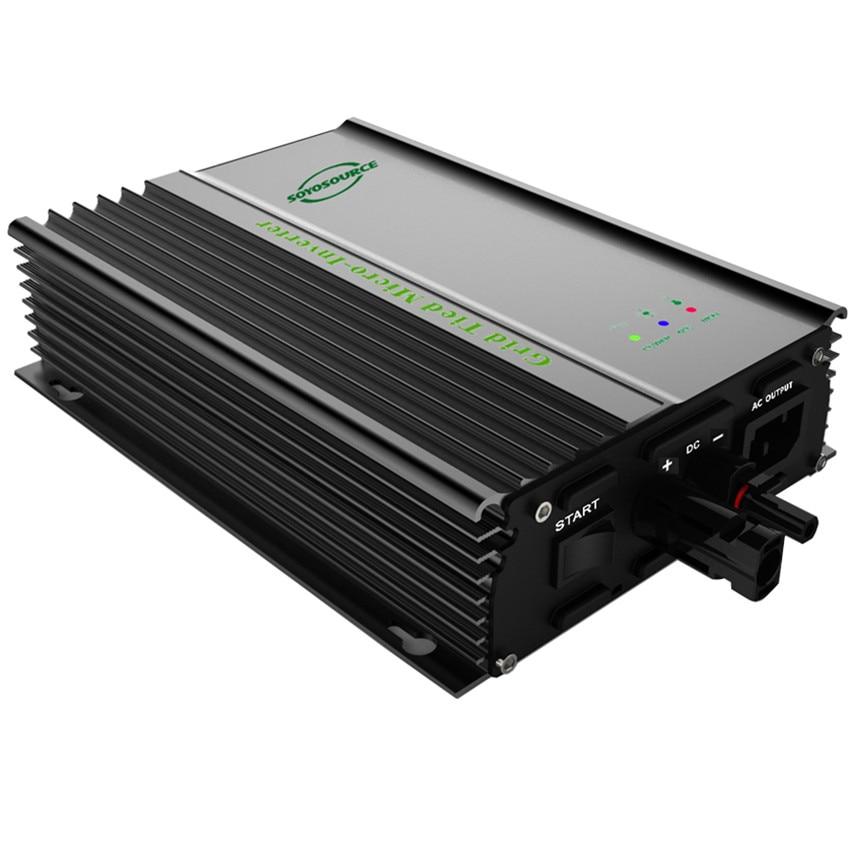 micro Grid Tie Inverter 600w 24V 36V 72V battery inverter Pure Sine Wave 110V 220V Output