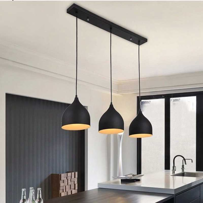 Lukloy Modern Ceiling Lamp Metal Led Pendant Lights For Home
